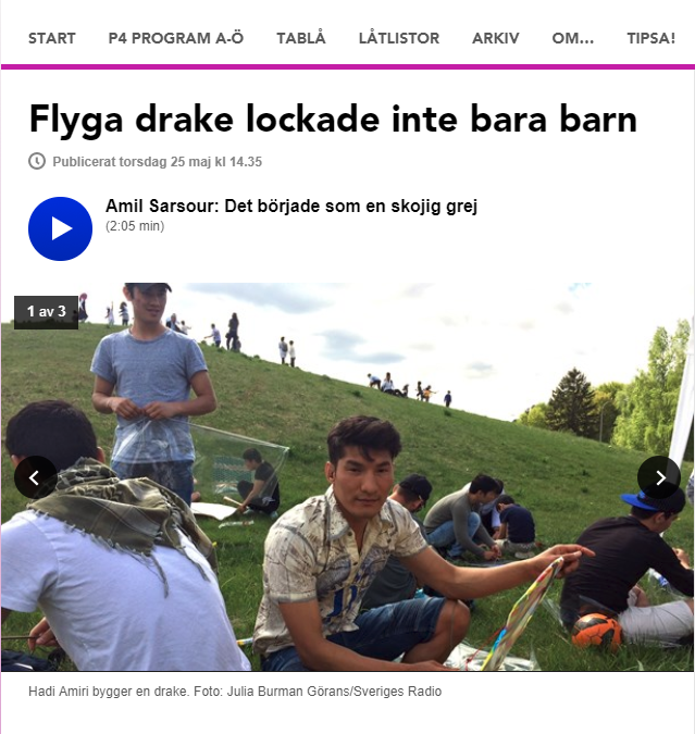 P4 Uppland – flyga drake