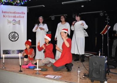 2018 Mångfaldsjulbord, Lucia firandet