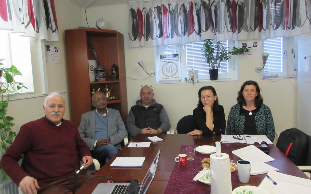 20190226 Möte med Karin Davin Resettlement Associate UNHCR