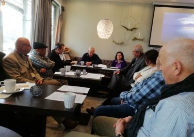 Radio SIU team utvärderingsarbete 1 mars 2020