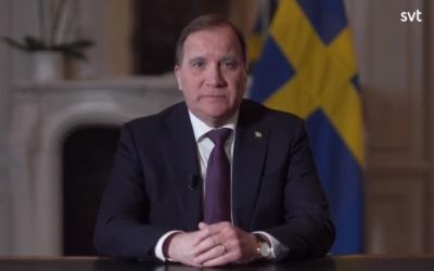Statsminister Stefan Löfvens tal till nationen