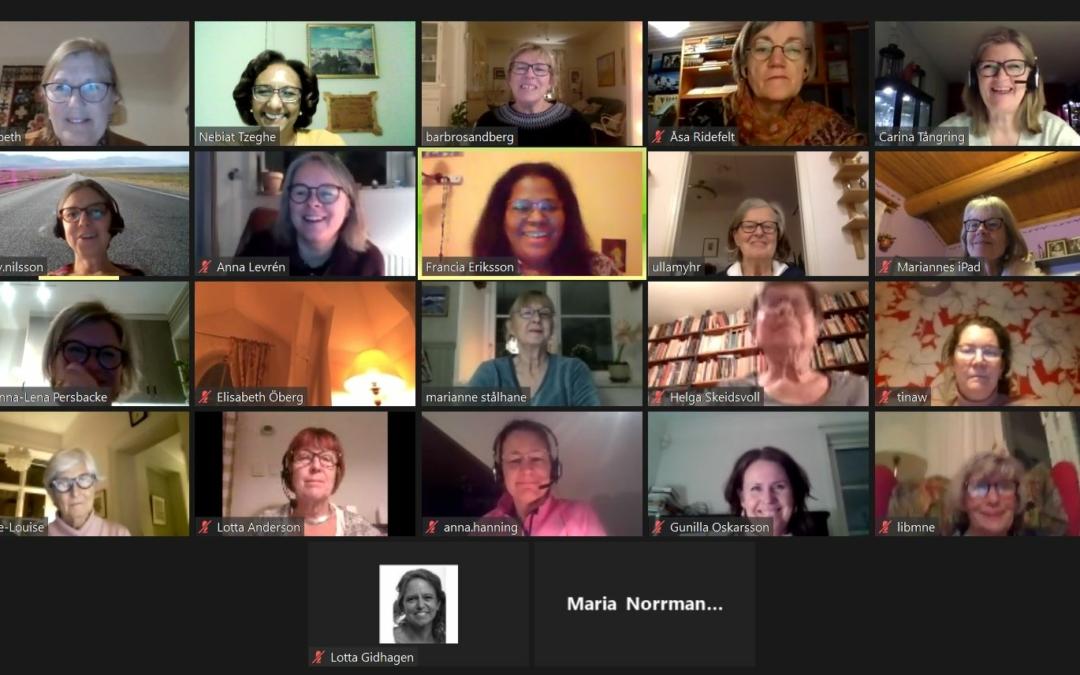 2 Feb Zoom möte med Lundelska skolan pedagoger.