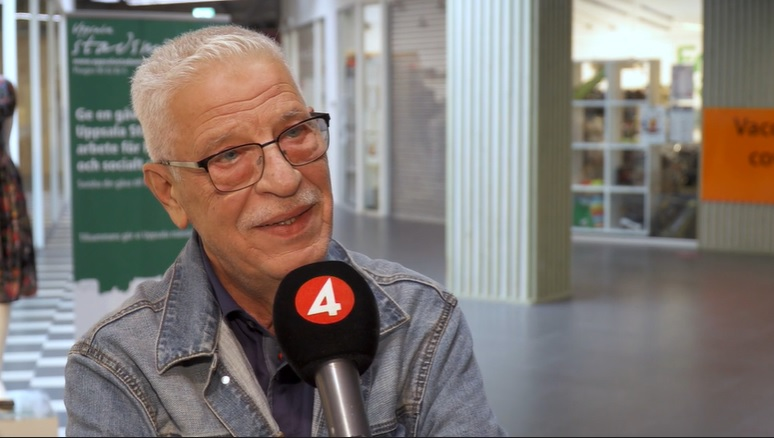 TV4 gjorde en intervju med SIU`s ordförande Zuhair Ammya om covid-19