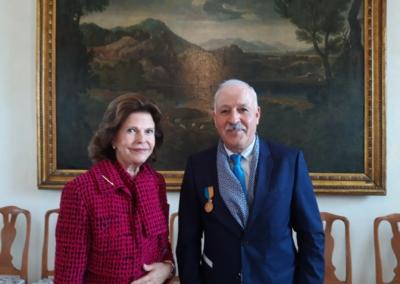 23 sep. 2021 Amil Sarsour har fått inbjudan av Landshövding Göran Enander att äta lunch med Kungaparet
