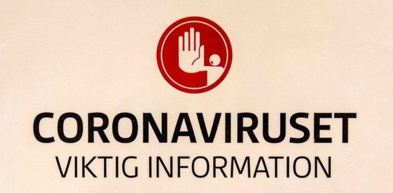 Information om coronaviruset